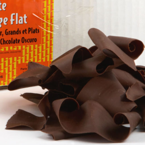 Dark Chocolate Shavings Large Flat