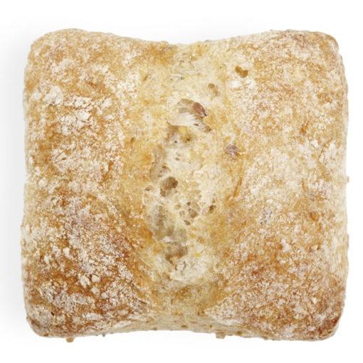 BOULART Ciabatta Whole Grain Dinner Roll 45g - Pack of 10