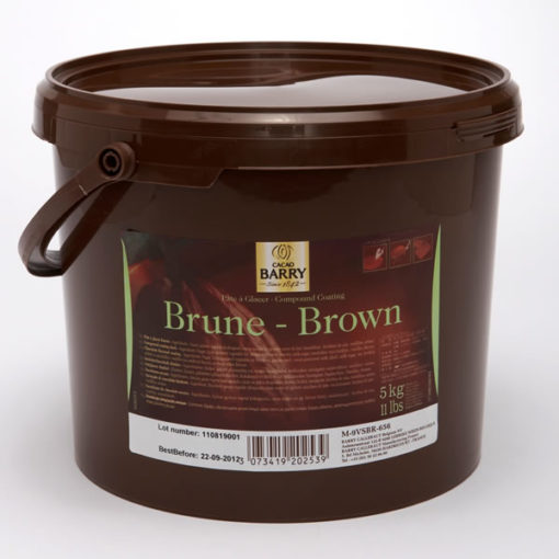 Cocoa Barry Pate a Glacer Brune 5kg