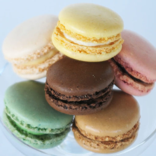 Macarons (1st serie) 6 Flavors