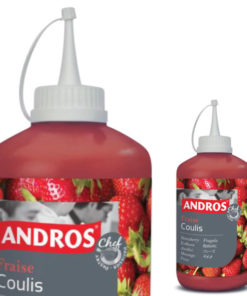 Coulis Andros Raspberry - 500 gr