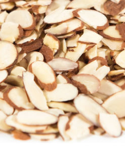 Sliced Blanched Almonds - 5lbs
