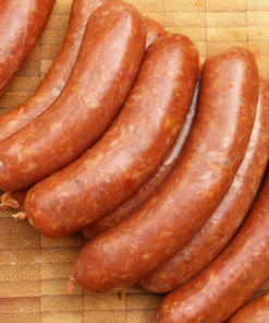 LAUBRY Merguez 100% Lamb (Pork Free) (bag of 6 pcs)