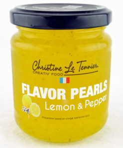 Flavor Pearls Lemon Pepper - Jar