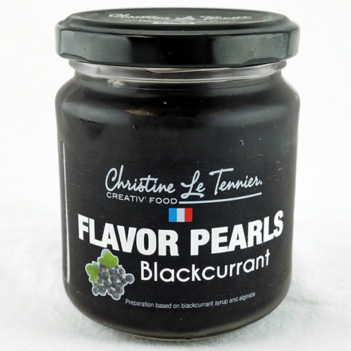 Flavor Pearls Blackcurrant - Jar