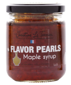 Flavor Pearls Maple Syrup - Jar