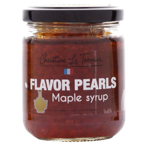 Flavor Pearls Maple Syrup - Jar