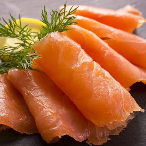 Sliced Smoked Salmon Royal Scottish - 2.85 lbs